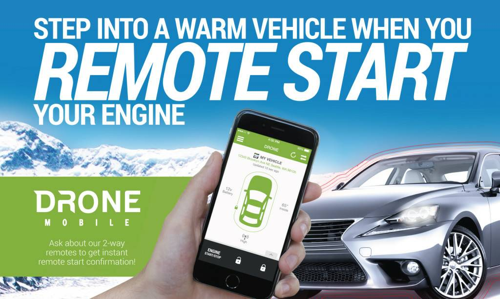 Remote starters alarms sounds safe978762 3633 185 south main drone mobile add on for remote start 200 sciox Gallery